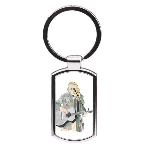 Taylor Sketch Luxury Keyring