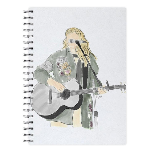 Taylor Swift Sketch Notebook