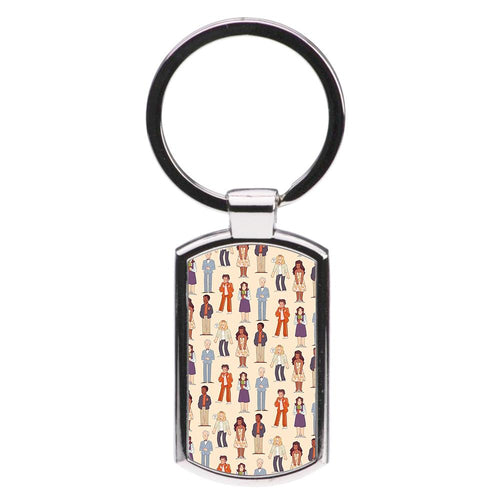 The Good Place Characters Luxury Keyring