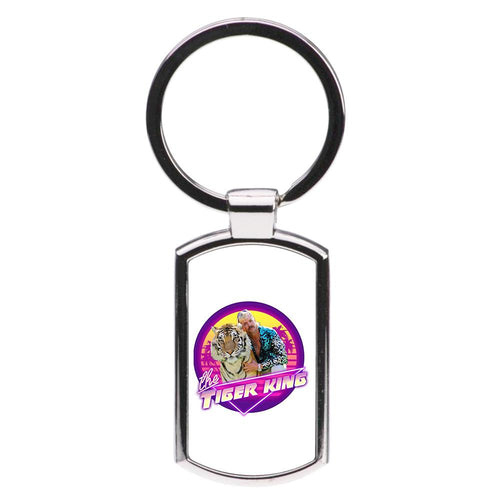 The Tiger King Luxury Keyring