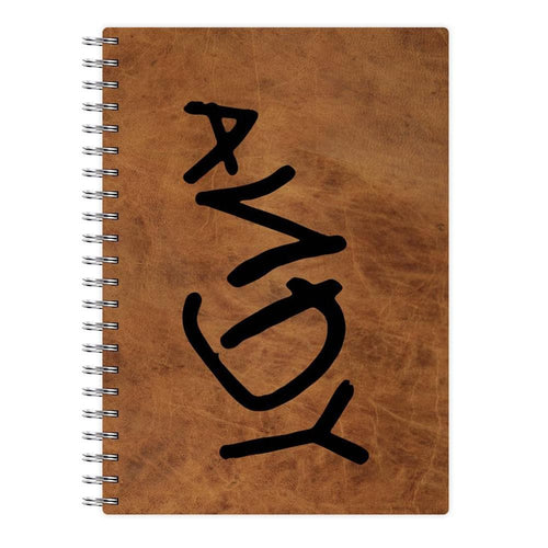 Andy Footprint - Toy Story Notebook - Fun Cases