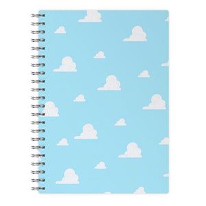 Andy's Bedroom Wallpaper - Toy Story Notebook - Fun Cases