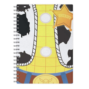 Woody Costume - Toy Story Notebook - Fun Cases