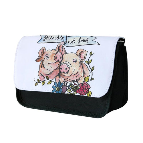 Friends Not Food - Vegan Pencil Case
