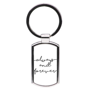 Always & Forever - Vampire Diaries Luxury Keyring