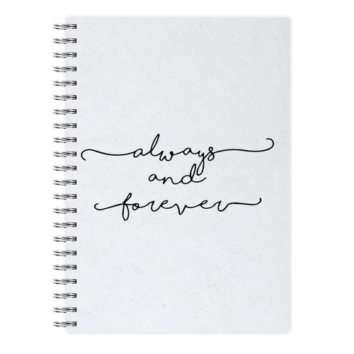 Always & Forever - Vampire Diaries Notebook - Fun Cases