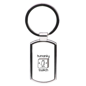 Humanity Switch - Vampire Diaries Luxury Keyring