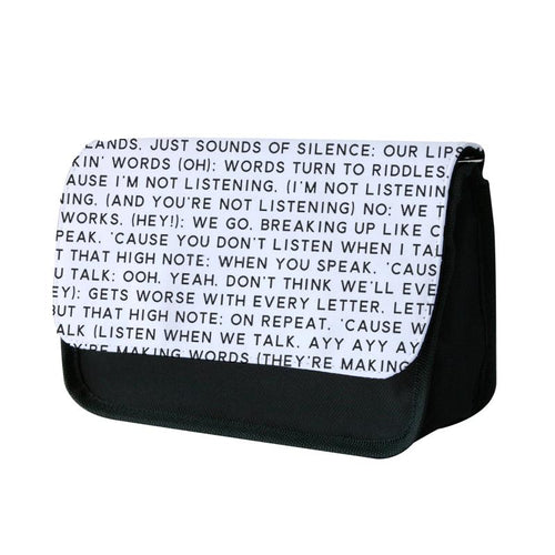 Talk Lyrics - Why Don't We Pencil Case