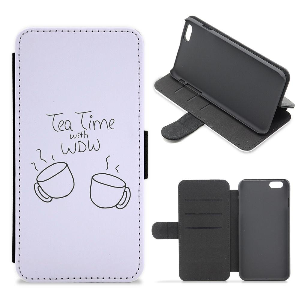 Tea Time With WDW - Why Don't We Flip / Wallet Phone Case