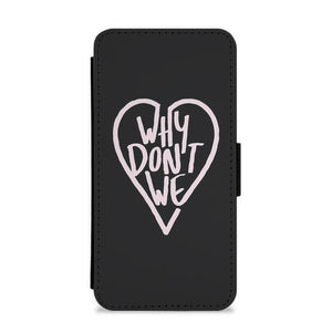 Why Don't We Heart Flip / Wallet Phone Case