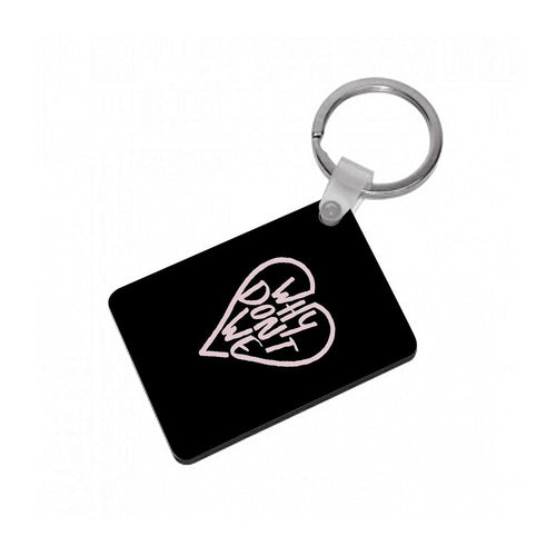 Why Don't We Heart Keyring