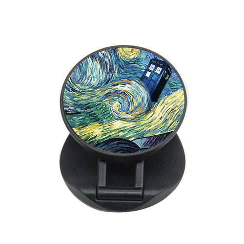Starry Night Tardis - Doctor Who FunGrip - Fun Cases