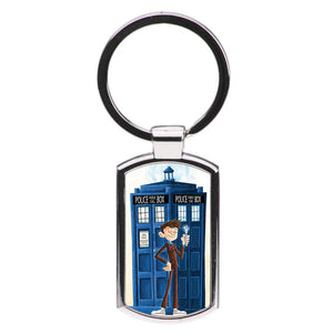 The Tenth Doctor - Doctor Who Luxury Keyring