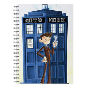The Tenth Doctor - Doctor Who Notebook - Fun Cases