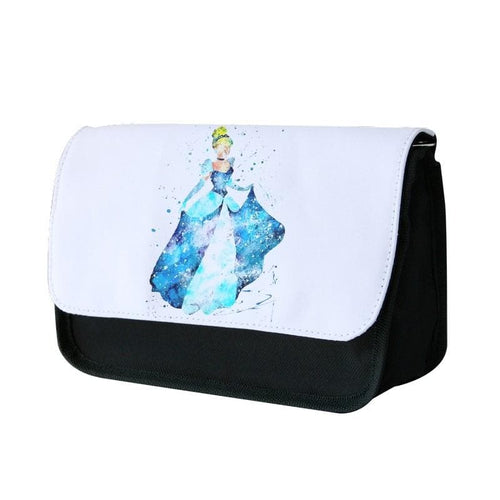 Watercolour Cinderella Disney Pencil Case - Fun Cases