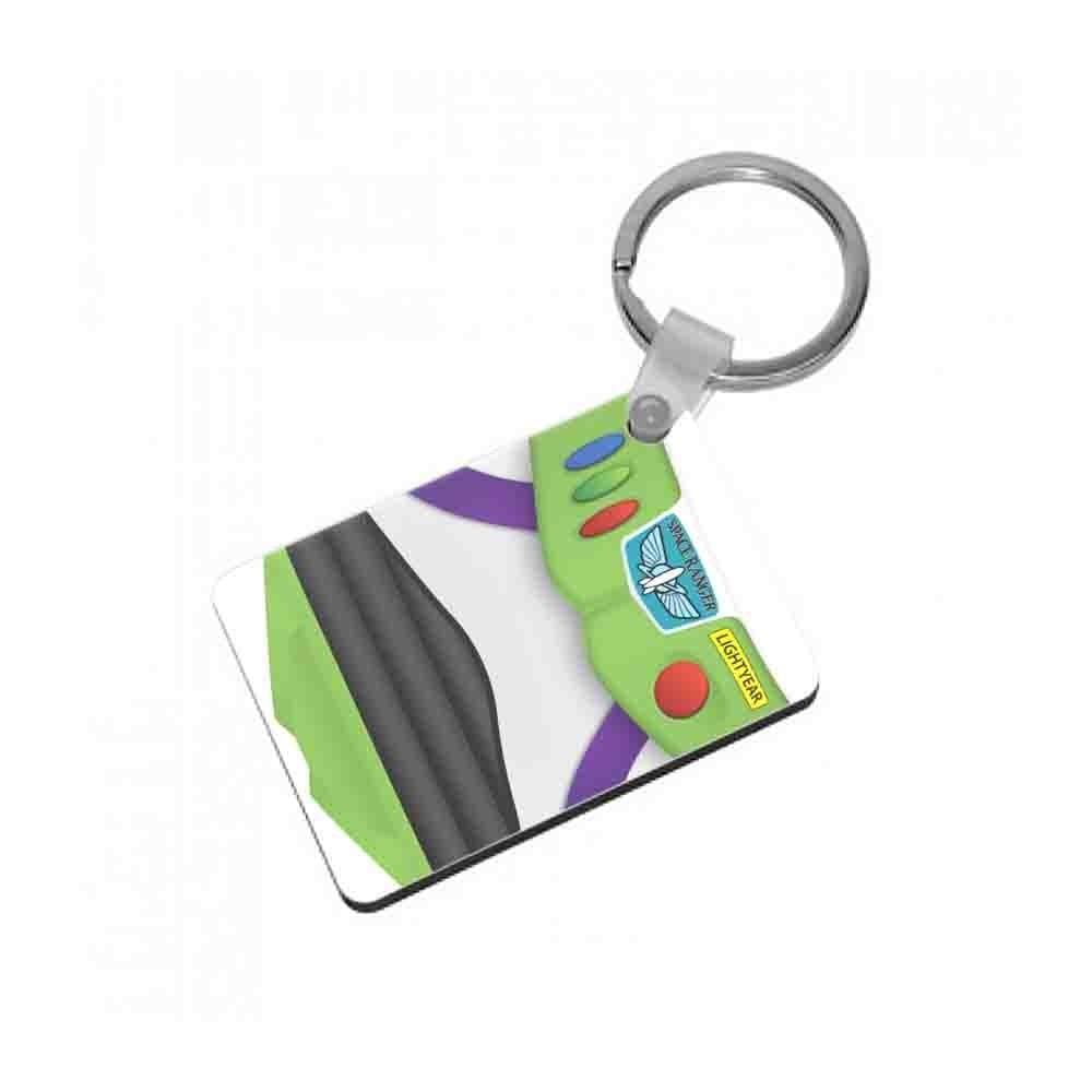 Buzz Outfit Toy Story Keyring - Fun Cases
