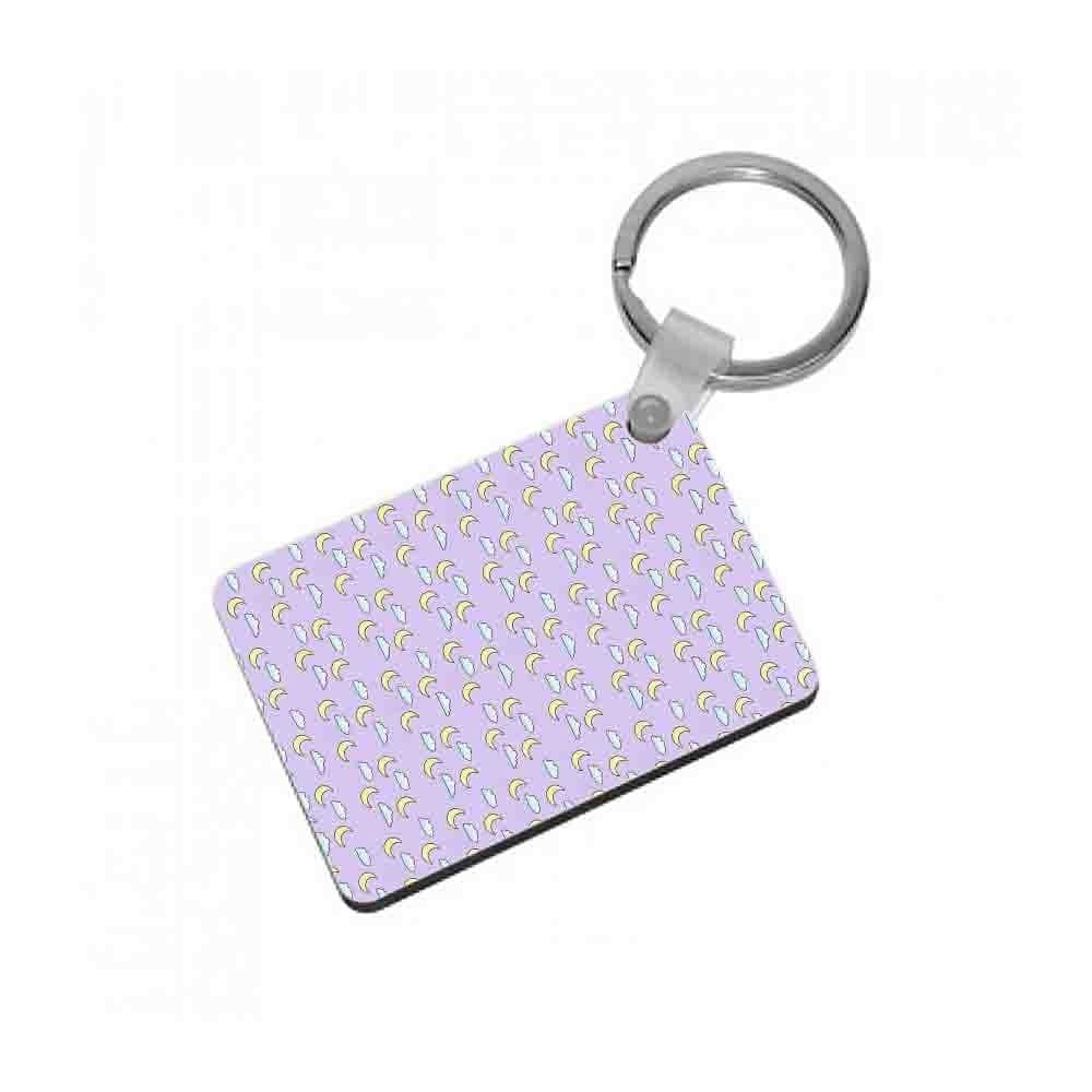 Ariana Grande - Moon and Clouds Keyring - Fun Cases