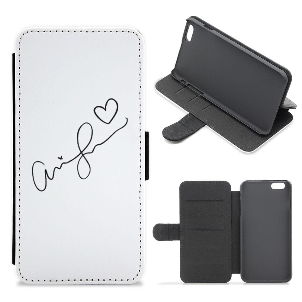 Ariana Grande Signature Flip / Wallet Phone Case - Fun Cases