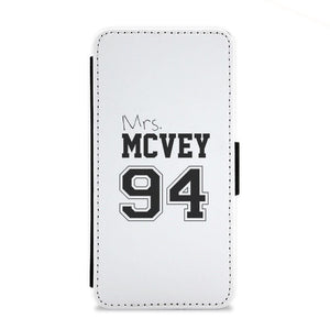 Mrs. McVey 94 - The Vamps Flip Wallet Phone Case - Fun Cases