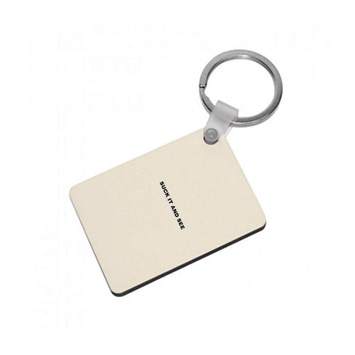 Suck It and See - Arctic Monkeys Keyring - Fun Cases