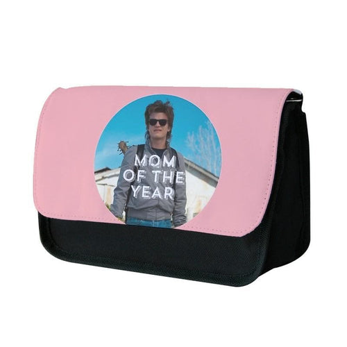 Steve Harrington - Mom Of The Year - Stranger things Pencil Case - Fun Cases