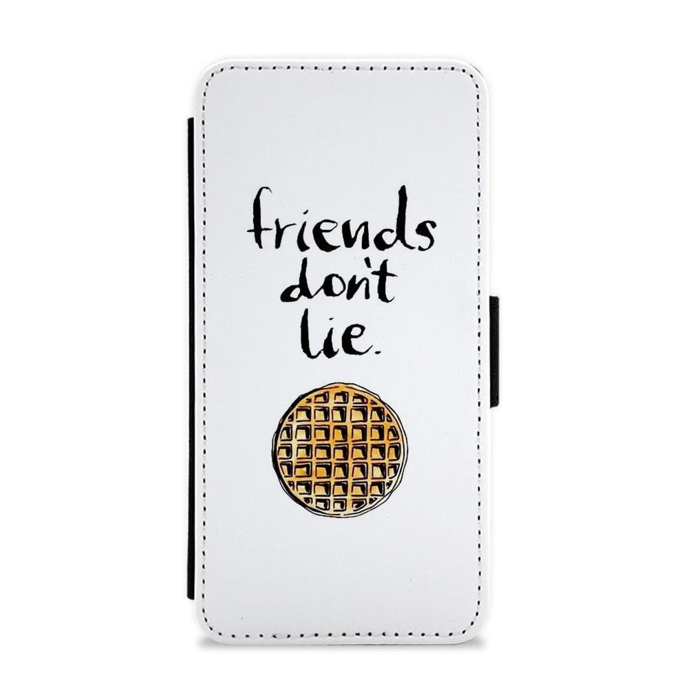 Friends Don't Lie Waffle - Stranger Things Flip / Wallet Phone Case - Fun Cases