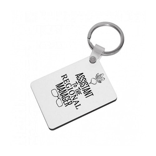 Assistant To The Regional Manager - Dwight Schrute - The Office Keyring - Fun Cases