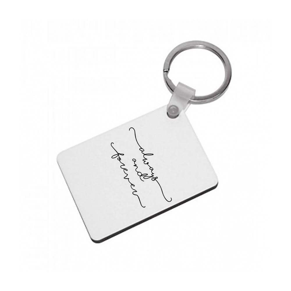 Always & Forever - Vampire Diaries Keyring - Fun Cases
