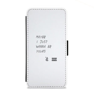 Maybe I Just Wanna Be Yours - Arctic Monkeys Flip Wallet Phone Case - Fun Cases