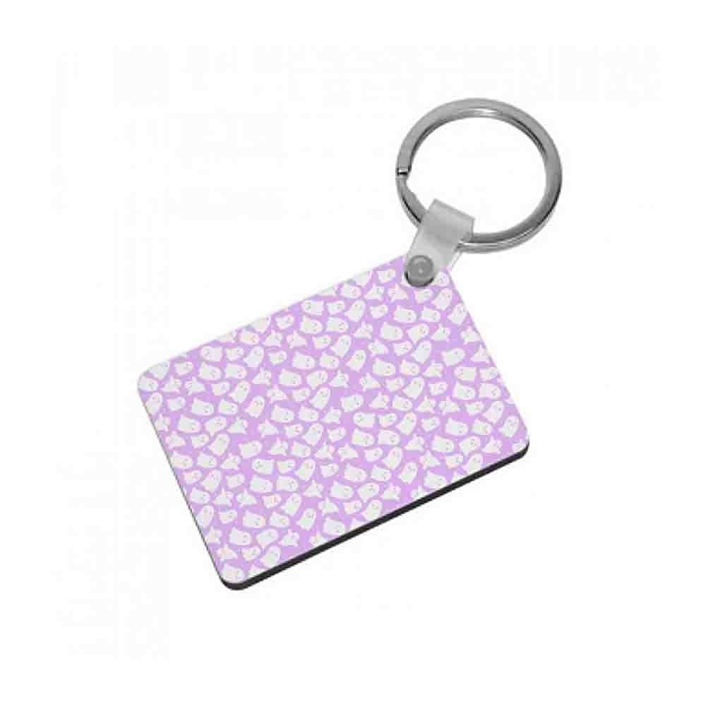 Ghost Pattern Keyring - Fun Cases