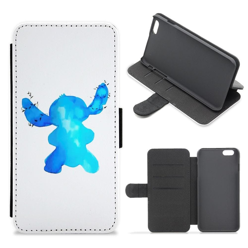 Stitch Flip Wallet Cover Phone Case