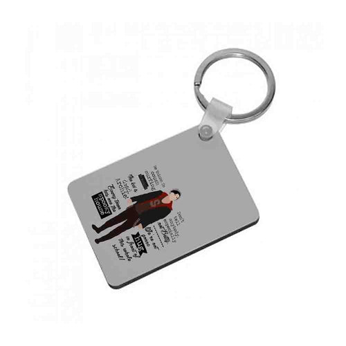 Jughead Quotes Riverdale Keyring - Fun Cases