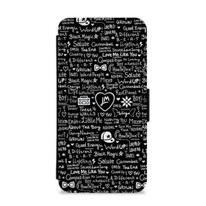 Little Mix Quotes Flip / Wallet Phone Case - Fun Cases