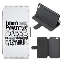 I'm Highly Disfunctional Everywhere - Panic At The Disco Flip / Wallet Phone Case - Fun Cases