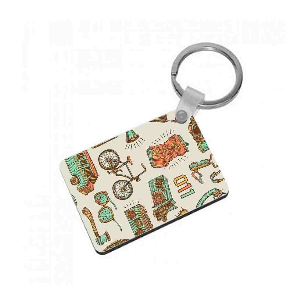 Stranger Options - Stranger Things Keyring - Fun Cases