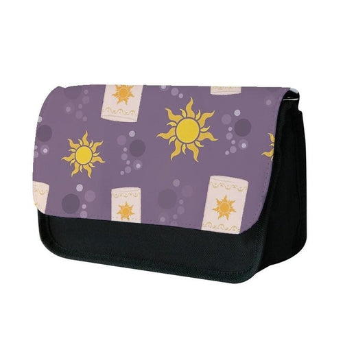 Tangled Lanterns Cartoon Pencil Case - Fun Cases