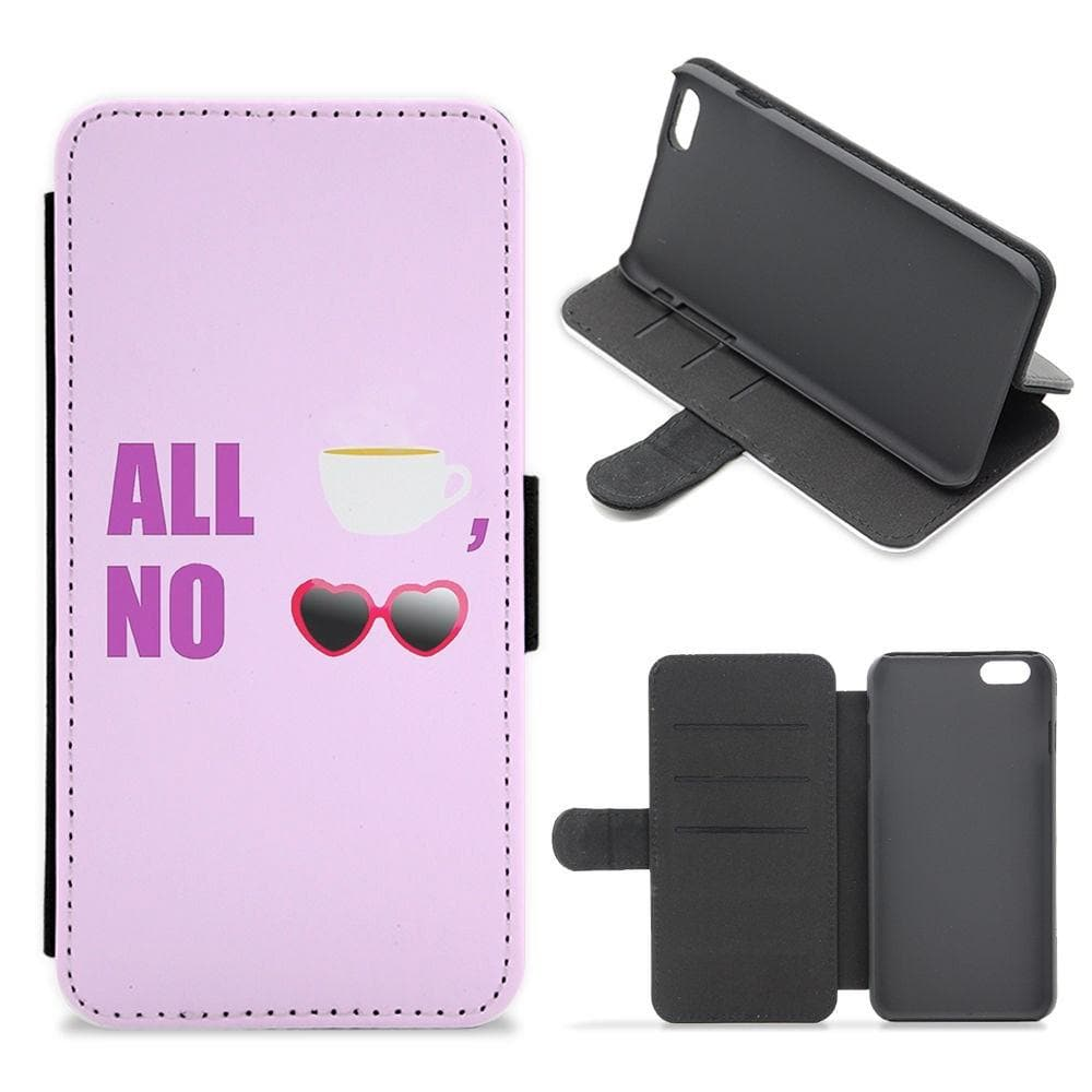 All T, No Shade - RuPaul's Drag Race Flip Wallet Phone Case - Fun Cases