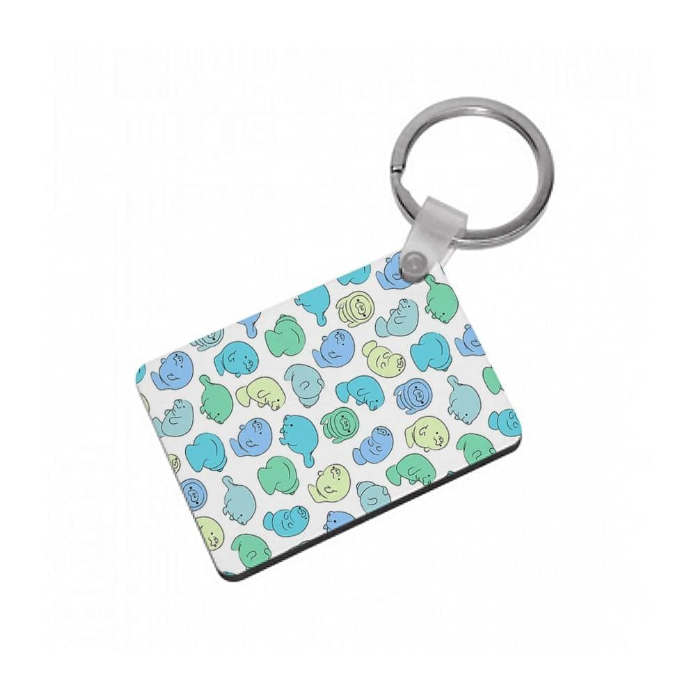 Manatee Party Keyring - Fun Cases