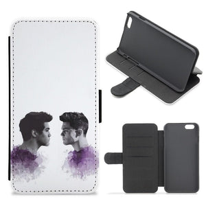 The Dolan Twins Flip / Wallet Phone Case - Fun Cases