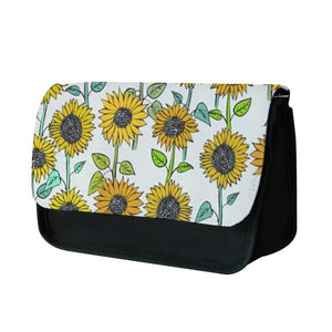 Painted Sunflowers Pencil Case - Fun Cases