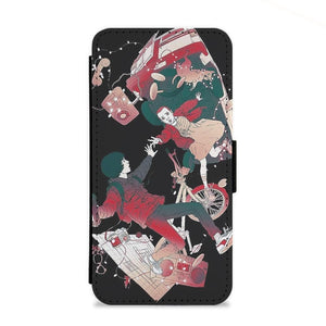 Stranger Things - Falling Flip Wallet Phone Case - Fun Cases