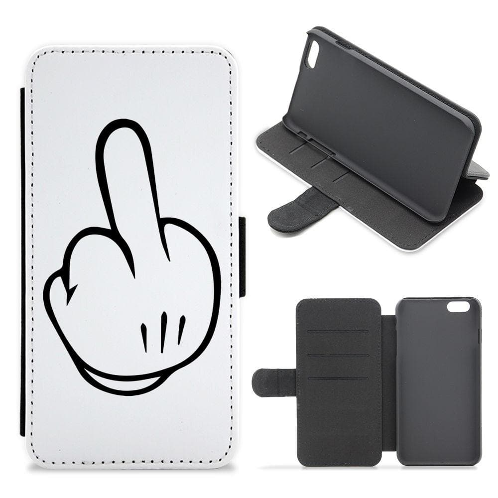 Mickey Mouse Middle Finger Flip / Wallet Phone Case - Fun Cases