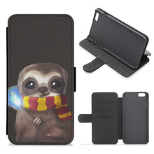 Harry Sloth - Harry Potter Flip Wallet Phone Case - Fun Cases