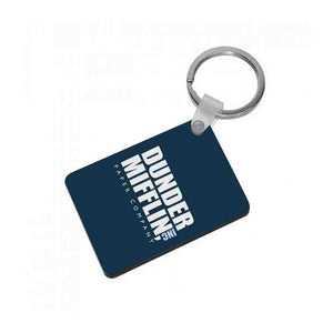 Dunder Mifflin Logo - The Office Keyring - Fun Cases
