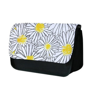 Cute Daisy Pattern Pencil Case - Fun Cases