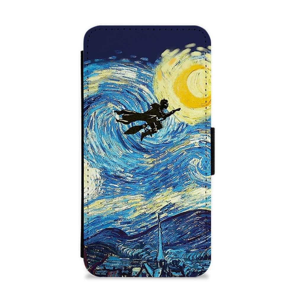 Starry Potter - Harry Potter Flip / Wallet Phone Case - Fun Cases