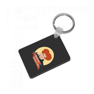 Resting Witch Face - Hocus Pocus Keyring - Fun Cases