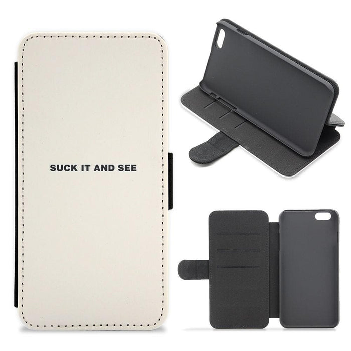 Suck It and See - Arctic Monkeys Flip Wallet Phone Case - Fun Cases