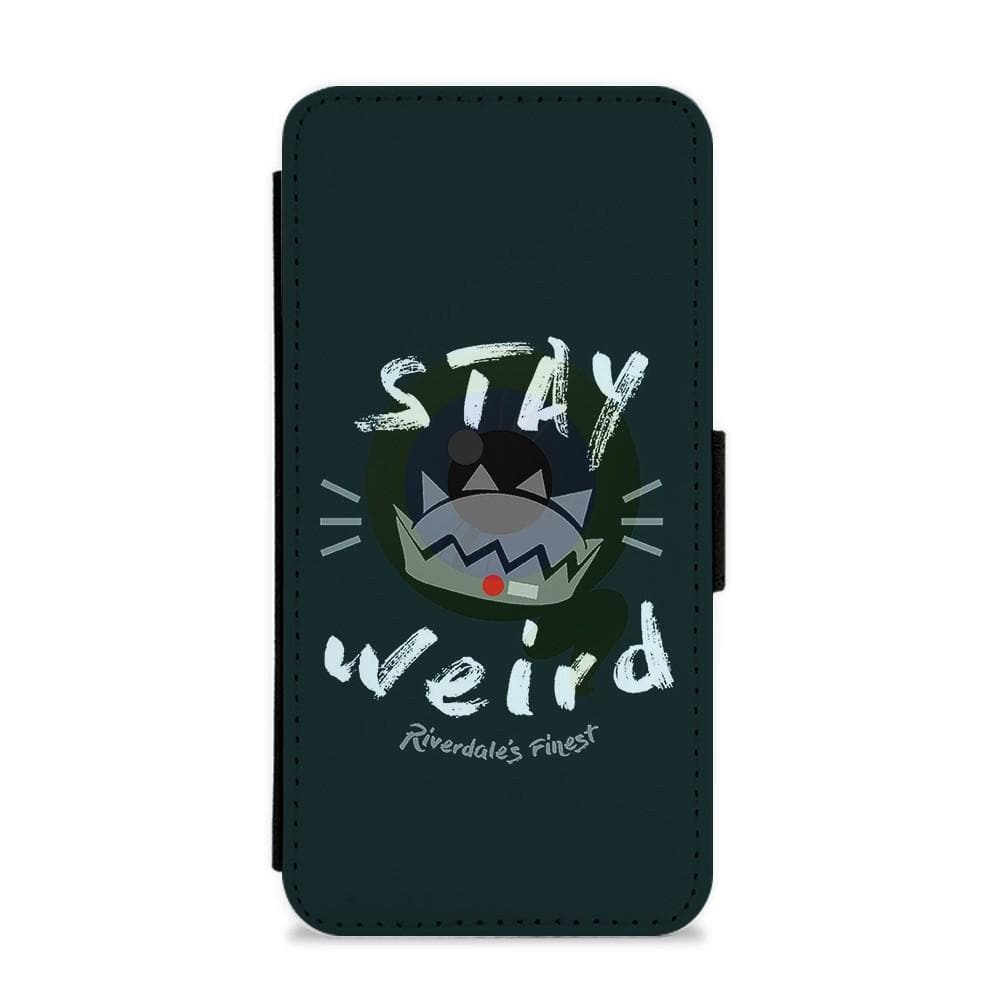 Jughead Jones Stay Weird - Riverdale Flip / Wallet Phone Case - Fun Cases