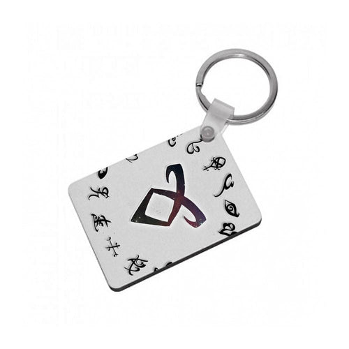 Shadowhunters Rune Logo Keyring - Fun Cases